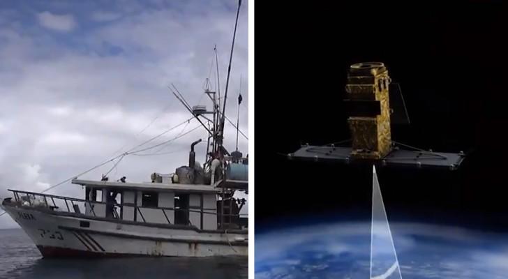 Lanciato il programma che usa la tecnologia satellitare per combattere la pesca illegale