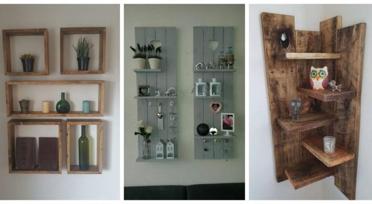 Palettes : découvrez comment réaliser des étagères qui feront de votre maison un lieu unique