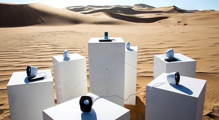 La chanson Africa de Toto retentira à jamais dans le désert de Namibie : une curieuse installation sonore