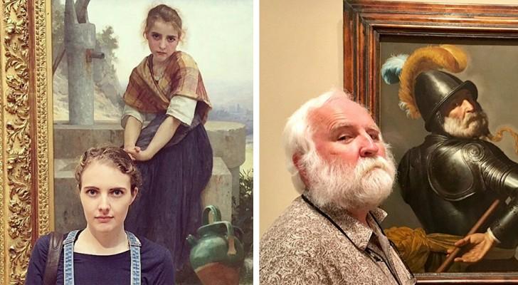 16 Menschen fanden zufällig ihren Doppelgänger auf einem Museumsgemälde abgebildet