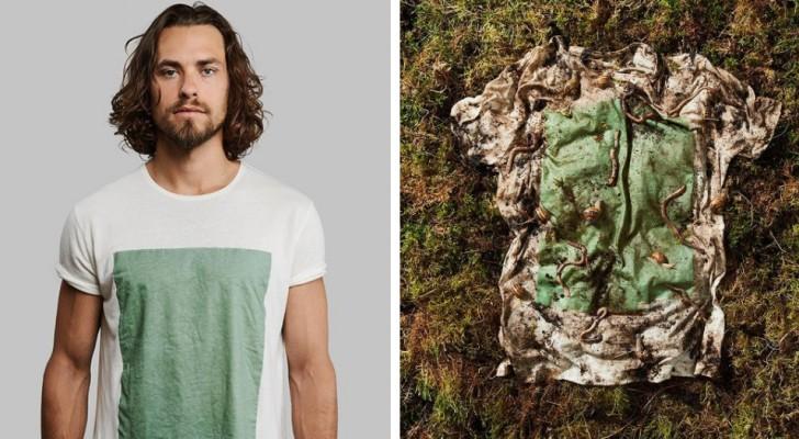 Moda sostenibile: due designer hanno lanciato le magliette biodegradabili realizzate con alghe e polpa di legno