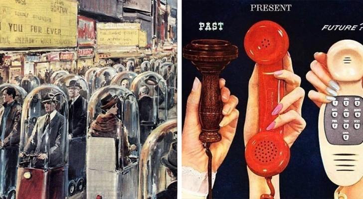 Retro-futurismo: 15 immagini descrivono come in passato venisse immaginato il futuro