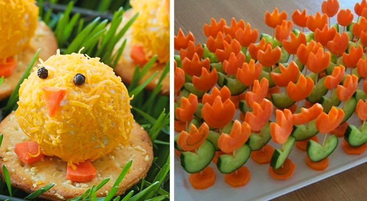 7 ideas divertidas para sorprender a sus invitados con exquisitos aperitivos de Pascua