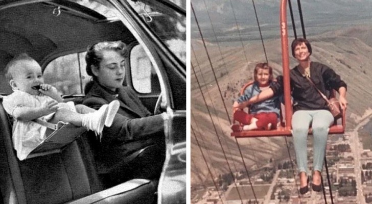 Unknowing parents: 17 photos from the past show us how dangerous some customs of the time were