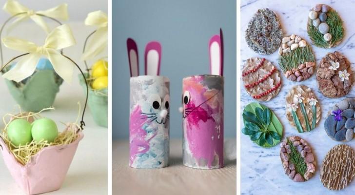 Decora con i bimbi a Pasqua realizzando questi fantastici lavoretti creativi