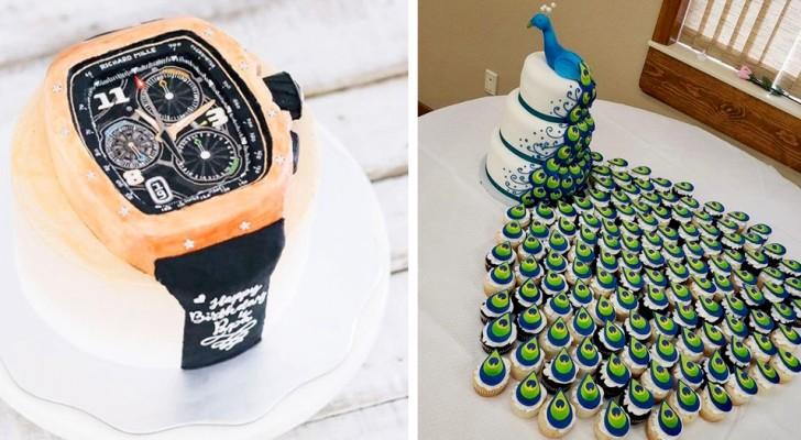 Tão perfeitos que nem parecem reais: 17 bolos que merecem um prêmio por sua inspiração e criatividade