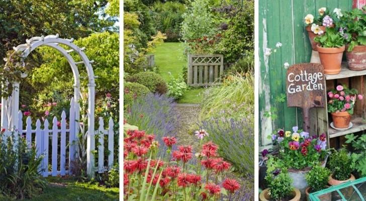 Amenez dans votre jardin la magie d'un cottage anglais avec ces splendides trouvailles décoratives