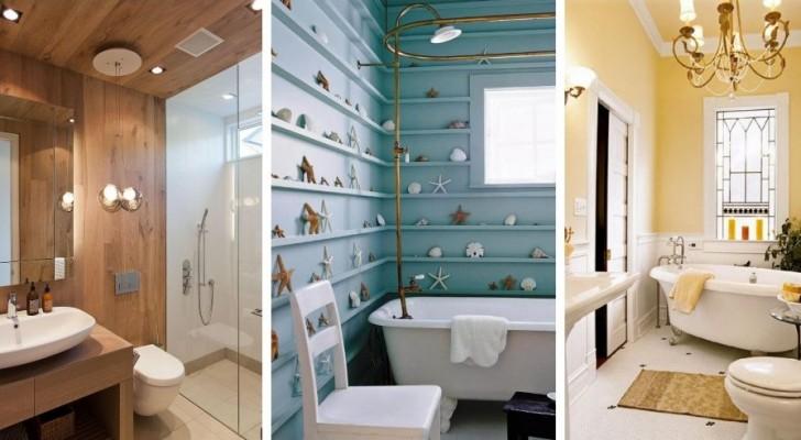 Peu de place mais beaucoup de confort : 12 astuces pour meubler avec goût les petites salles de bain