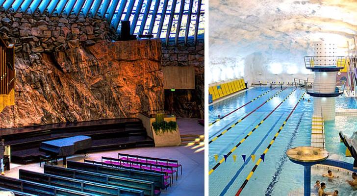 Helsinki souterraine : la ville clone avec des kilomètres de tunnels et des zones où on peut s'amuser ou se réfugier