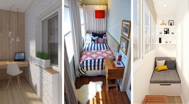 Découvrez les façons plus ingénieuses pour transformer le balcon en une extraordinaire pièce en plus