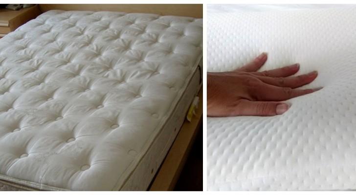 Pulisci efficacemente i materassi tradizionali, in lattice e memory foam con questi utilissimi rimedi