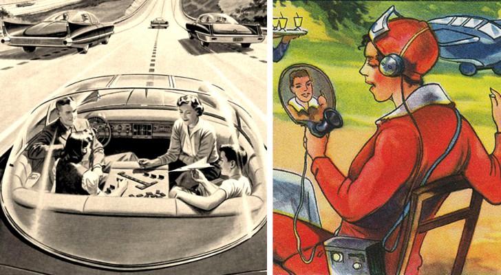 Come vedevano il futuro i nostri antenati? 18 immagini affascinanti e profetiche ce lo mostrano