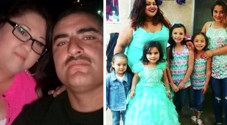 Een man en zijn vrouw adopteren de 5 dochters van de zus die overleed door het Coronavirus: Het is onze missie