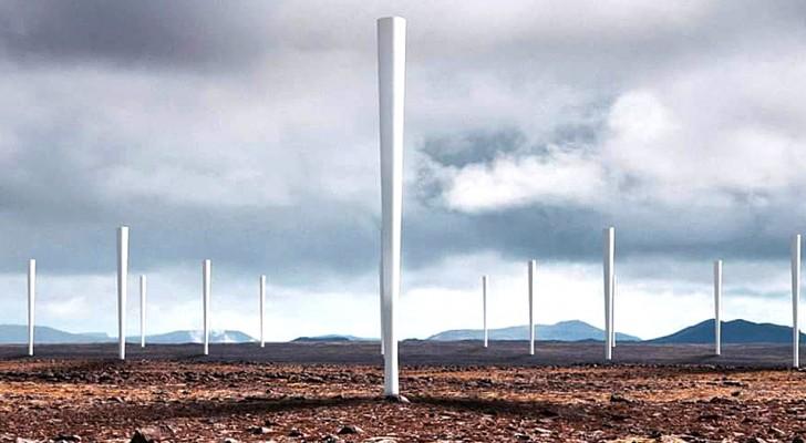 Aus Spanien, eine revolutionäre blattlose Windturbine: Wie funktioniert sie und welche Vorteile bringt sie?