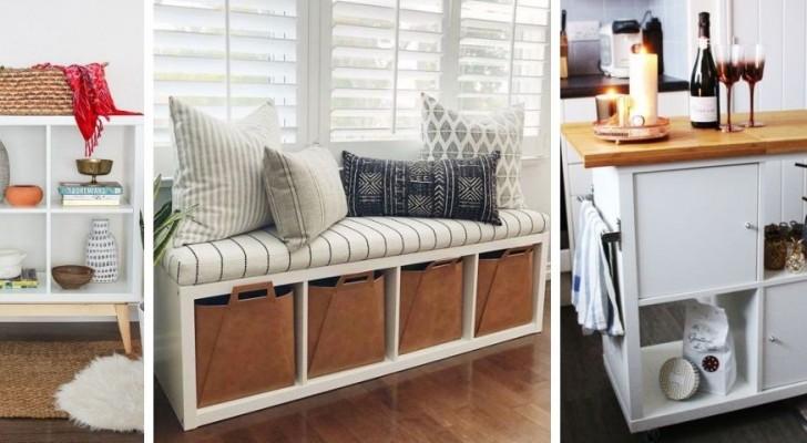 Libreria IKEA Kallax: scopri tanti modi per personalizzarla e trasformarla col fai-da-te
