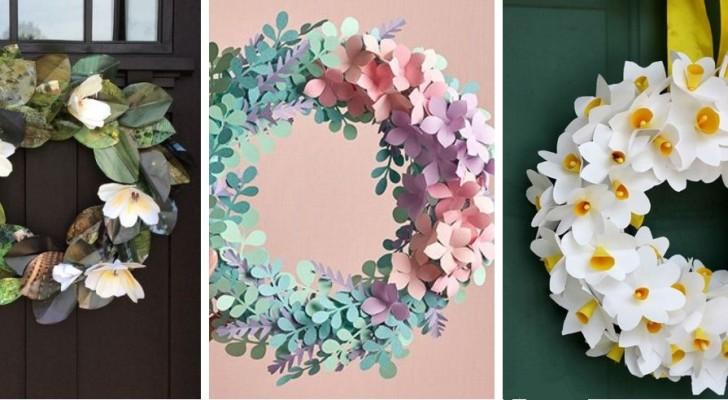Ghirlande di fiori e carta: decora la tua casa in modo colorato per celebrare la primavera