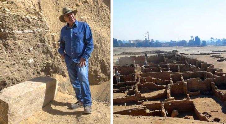 Ägypten: die 'Verlorene Goldene Stadt' wurde ausgegraben. Es ist die wichtigste Entdeckung nach dem Grab von Tutenchamun