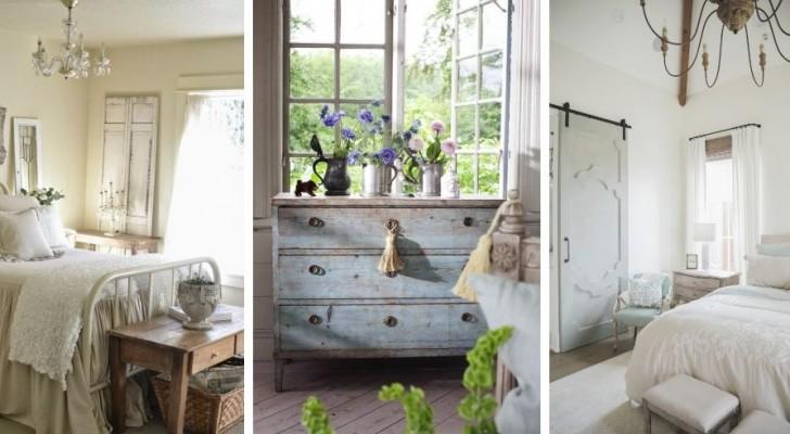Eleganza semplice ma senza tempo: scopri come arredare la camera da letto in stile country francese