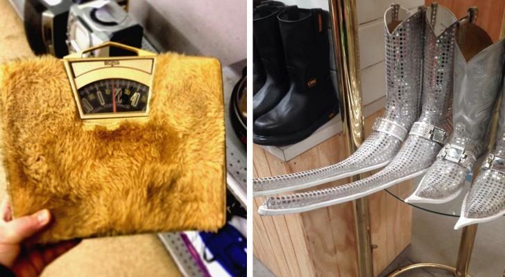 15 persone hanno condiviso foto delle cose più strane trovate nei negozi dell'usato
