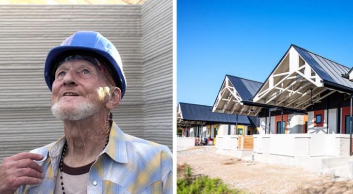 Era un senzatetto, oggi è il primo uomo a vivere in una casa costruita grazie alla stampa 3D