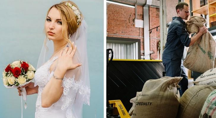 Sie kündigt, weil sie ihre Hochzeit planen muss, bittet aber ihren Verlobten darum, sich einen zweiten Job zu suchen