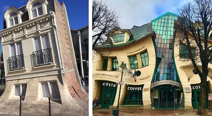 19 bâtiments fous et extravagants qui ont été conçus par de véritables stars de l'architecture