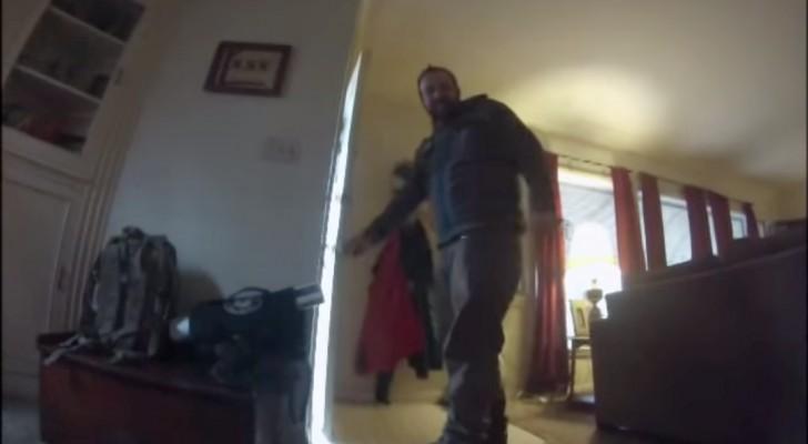 Deze man heeft een camera geplaatst in de halsband van zijn hond: wat hij doet is hartverscheurend!