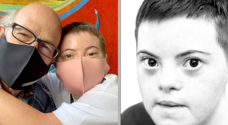 Dottern med Downs syndrom tar examen med högsta betyg - pappans ord är fulla av stolthet