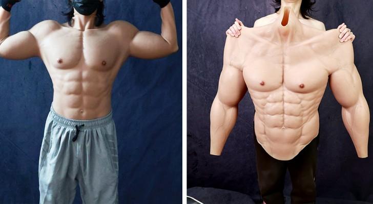 Eine Firma kreiert hyperrealistische Muskeln aus Silikon: Ein durchtrainierter Körperbau ohne Abstriche ist möglich
