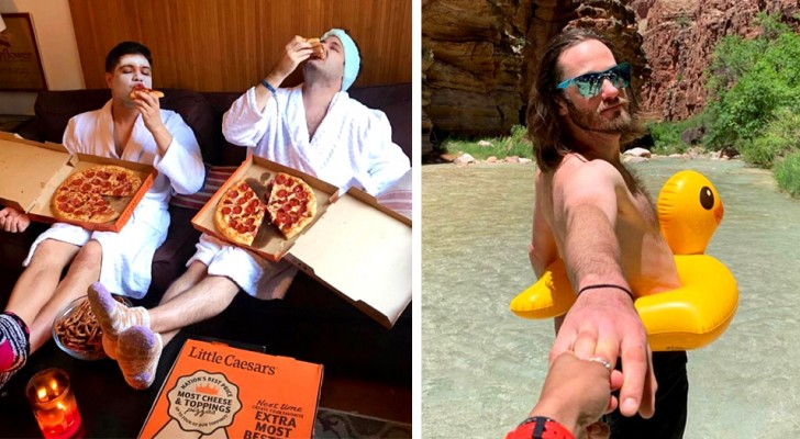 15 fotos hilárias de caras que imitam todas aquelas mulheres que postam fotos artificiais nas redes sociais