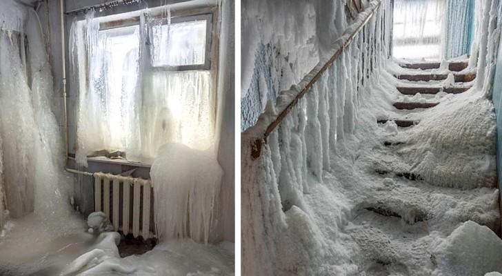 Una fotografa immortala il fascino glaciale e spettrale di alcune città fantasma russe