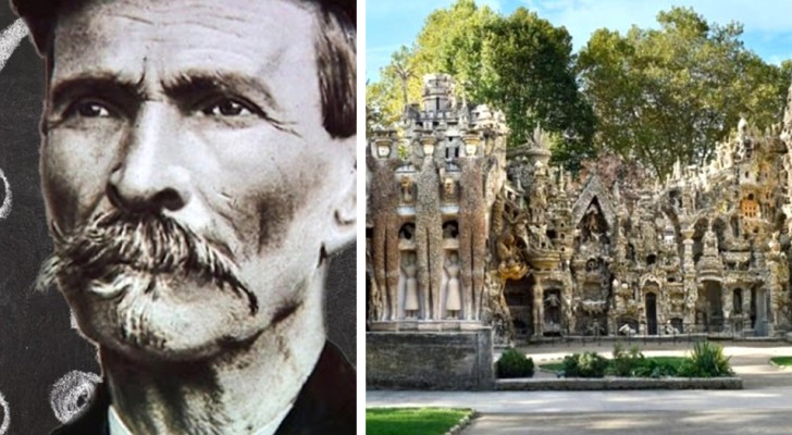 A postman spent 33 years of his life building a fairytale palace with his bare hands