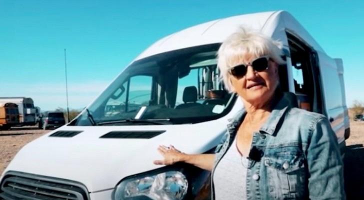À 70 ans, elle décide de vivre sa retraite dans son van : un choix aventureux