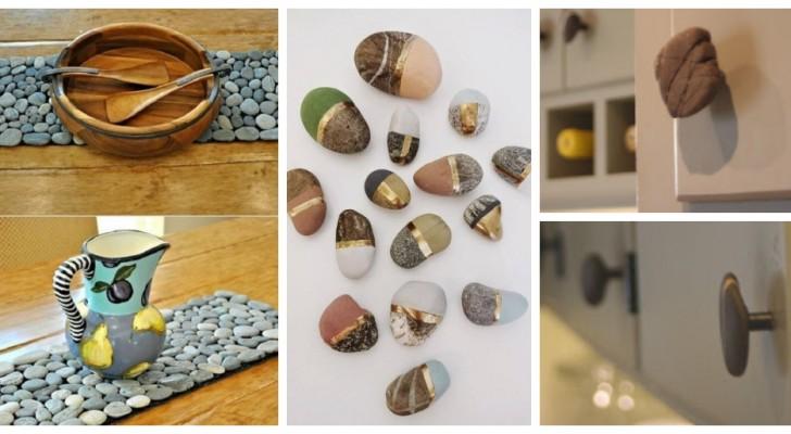 Des décorations adorables et des compléments d'ameublement utiles : découvrez comment vous pouvez recycler les pierres de façon créative