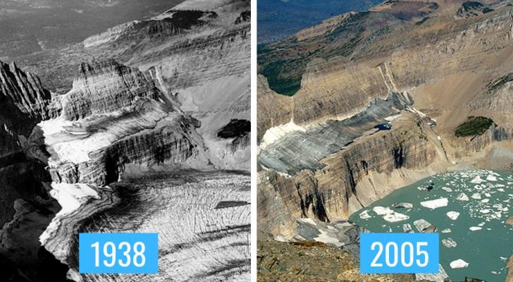 8 comparaisons de photos nous montrent les effets dévastateurs du changement climatique