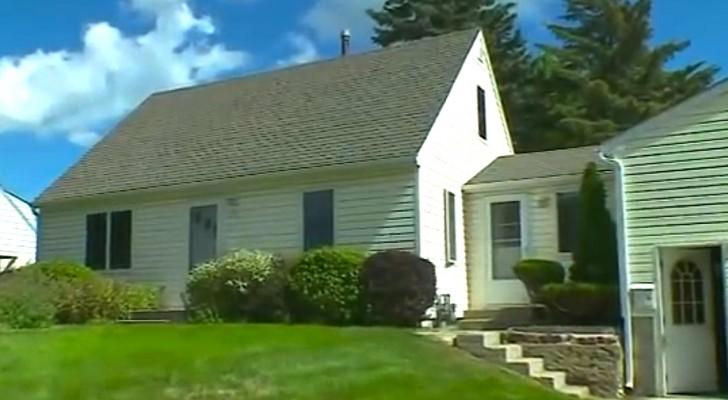 Von außen sieht es aus wie ein normales Haus aus, doch was dieser Mann gemacht hat, ist echt verrückt!