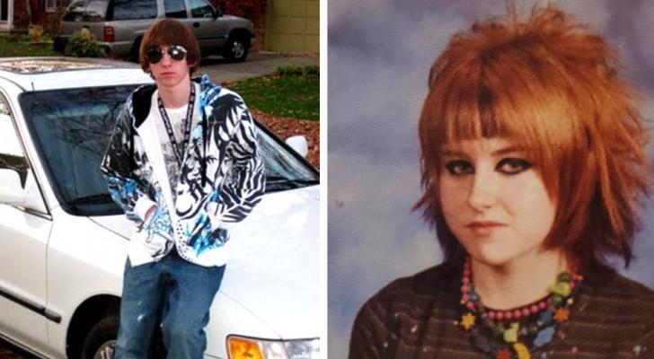 Le mode del passato: 15 persone hanno condiviso gli imbarazzanti look della loro adolescenza