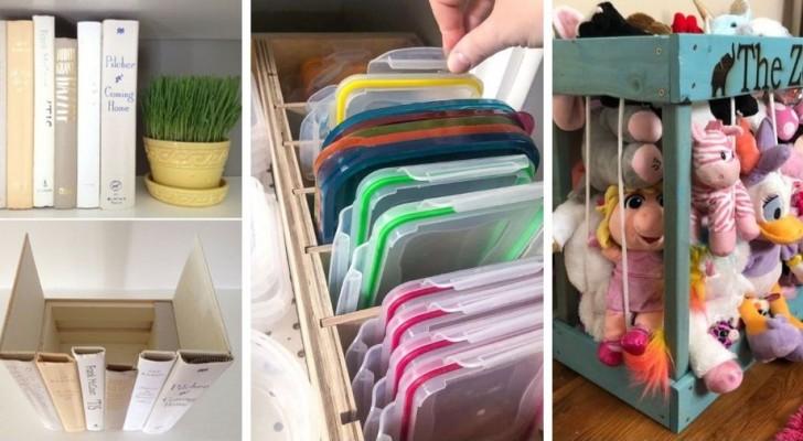 Organizza i tuoi spazi in modo efficiente con questi 14 oggetti salvaspazio