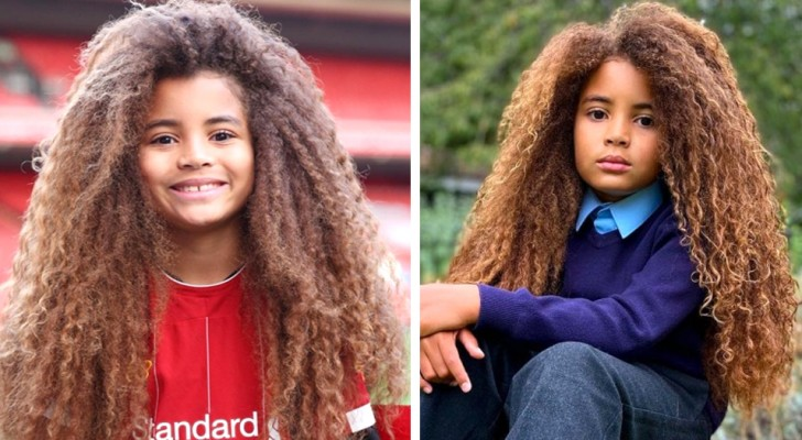 This 8-year-old boy has been rejected by all the schools in the county because of his long curly hair