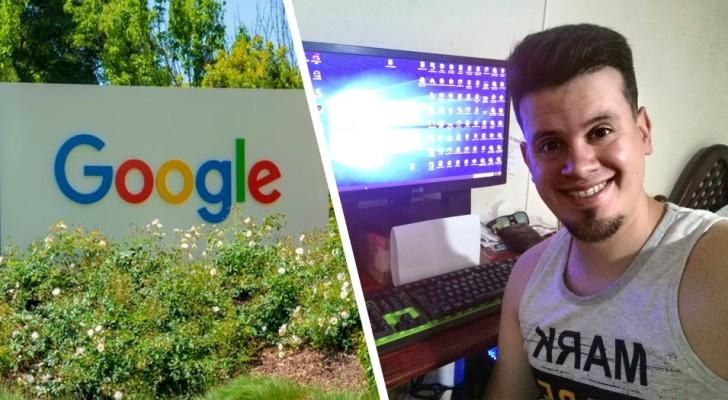 Un jeune homme achète le domaine Google Argentine pour 2,40€ :