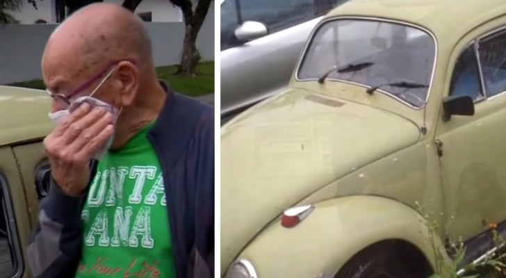 A retired teacher is forced to sell his car: his ex-students buy it only to return it to him