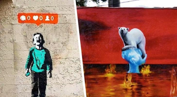 Gli artisti raccontano le scomode verità che spesso ignoriamo: 15 opere con forti messaggi sociali