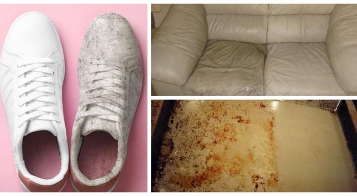 Oggetti e mobili sporchi e invecchiati? Falli tornare come nuovi con questi trucchi di pulizia