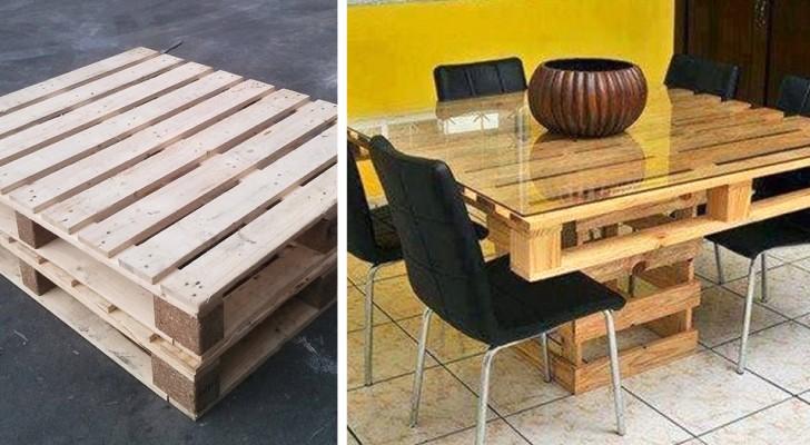 Realizzare un tavolo da giardino con i pallet: un progetto semplice e molto economico