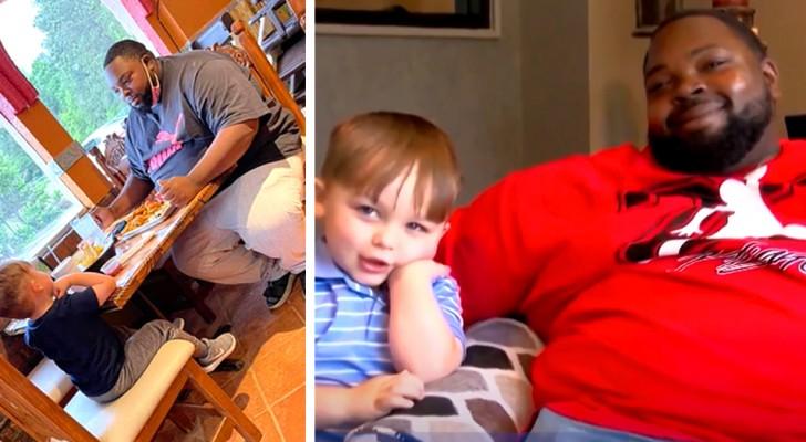 Un garçon de 6 ans voit un homme manger seul dans un restaurant : Je veux lui tenir compagnie !