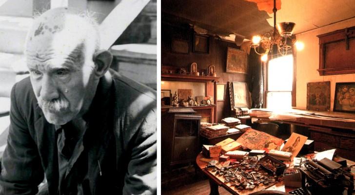 Quest'uomo era un umile bidello, ma oggi è considerato uno dei più grandi artisti autodidatti del 20° secolo