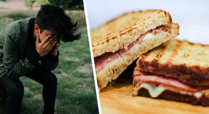 Il bande les yeux de son petit ami musulman et lui fait manger du porc à son insu : il appelle cela une blague