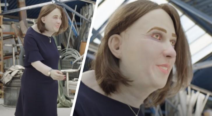 Heltid på kontoret framför datorn: om 20 år kan du se ut som den här läskiga dockan