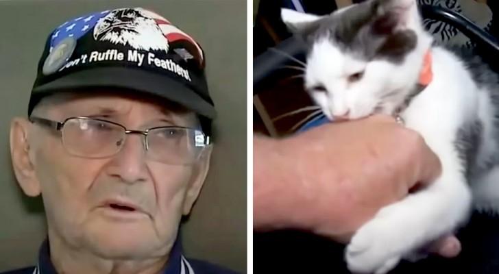 Un homme âgé tombe dans la douche et reste sur le sol pendant 16 heures : le chat le sauve en lui apportant son téléphone