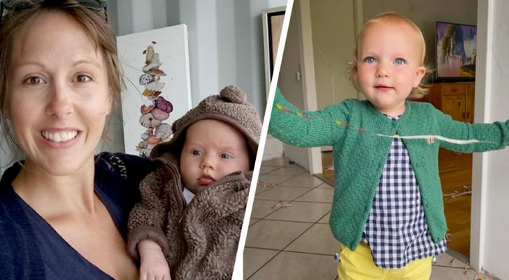 La crèche charge la maman d'une petite fille : Habillez-la comme une fille, nous pensions que c'était un garçon